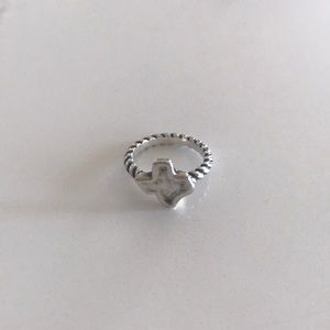 James Avery twisted wire Texas ring!